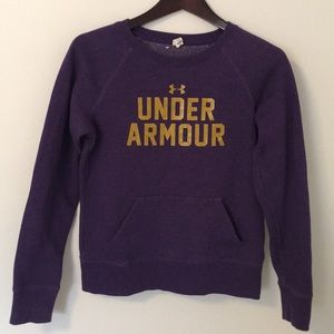 UA Under Armour sweatshirt Small Sm S Athletic Top